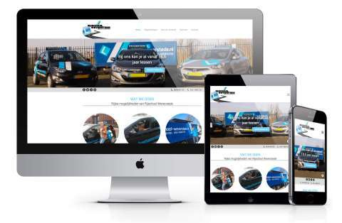 cms website voorbeeld bike2repair