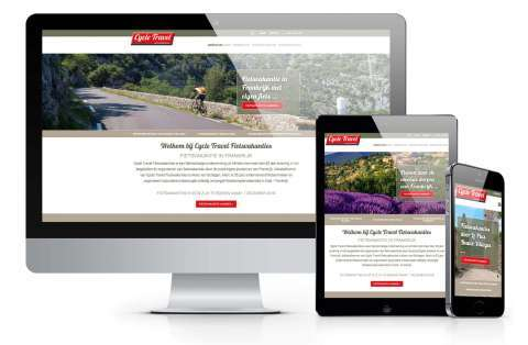 cms website voorbeeld cycle-travel