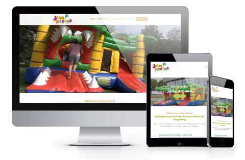 cms website voorbeeld jump-around