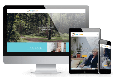 website voorbeeld heal-your-heart